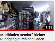 Musikladen Bendorf kleiner Rundgan durch den Laden